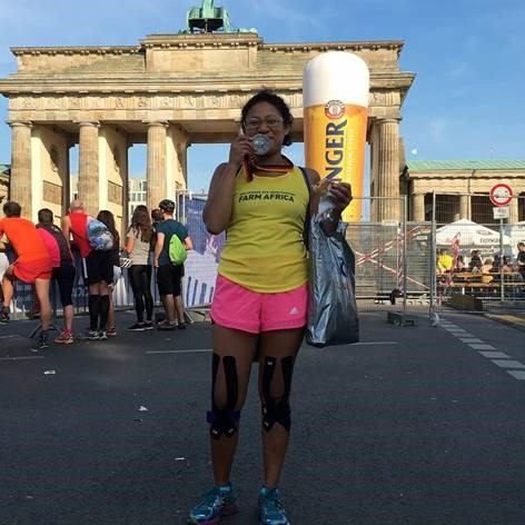 Sarita ran the Berlin Marathon for Farm Africa in 2016, raising £225 to support our work.