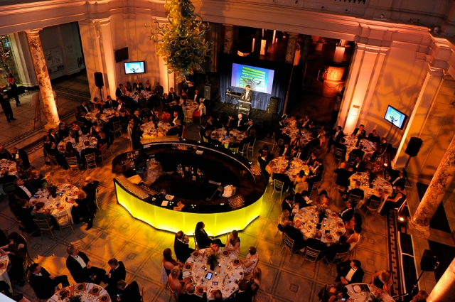 Gala Dinner 2014, Michelin-starred chef Jason Atherton's designed a one-off menu at the first  Gala Ball, which brought together over 200 Food for Good supporters at London's V&A Museum to raise over £140,000.