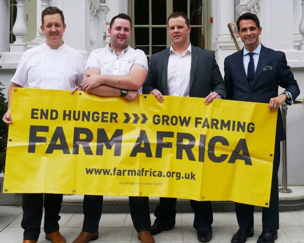 Led by Michelin-starred Ashley Palmer-Watts, a team of chefs undertook the gruelling eight day climb in August 2013 to Kilimanjaro, the roof of Africa - 5,895m above sea level, raising a further £50,000 towards the campaign.