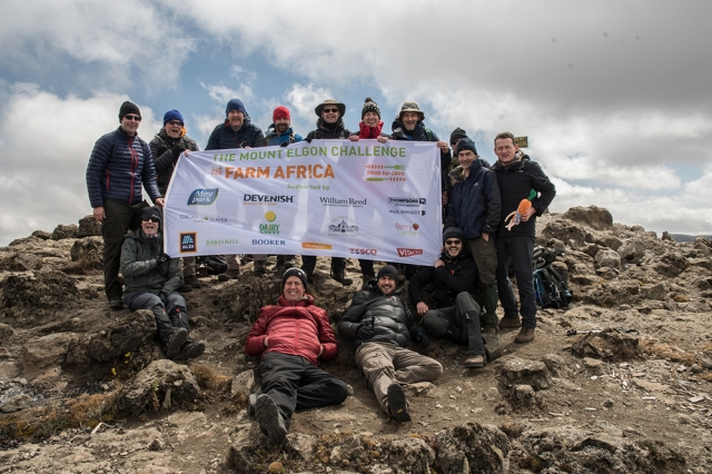 In January 2018, 13 leading food industry experts left the UK to face a gruelling seven-day hike up and across Mount Elgon, an extinct volcano that straddles the Uganda-Kenya border, on a route that had never been walked before. The team trekked through thick montane forest, deep gorges and up Mount Elgon's four peaks, to take on the challenge of a lifetime and to raise funds for Farm Africa.