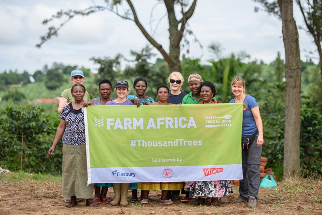 In October 2019 a group of eight senior businesswomen from the UK food and farming industry headed to Kanungu, Uganda to face the Thousand Trees Challenge of planting 1000 trees in just three days and together raising £75,000 for Farm Africa.