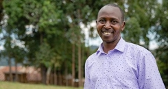 Q&A with Julius Marete, Coordinator of Farm Africa's Growing Futures project, funded by Aldi UK