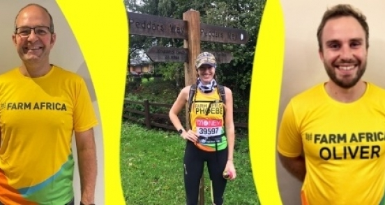 Q&A with the NFU's London Marathon runners