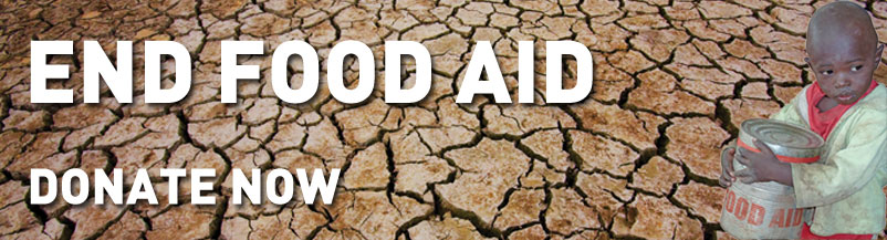 End food aid - donate now