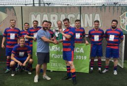 2019 chefs' football champions A.M. Bailey