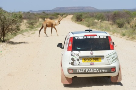 The Marsabit road