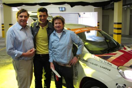 Philip Young and Paul Brace meet Expresso presenter