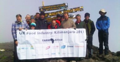 Industry leaders tackle Kilimanjaro