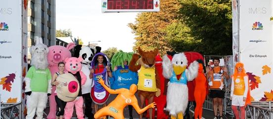 Royal Parks runners race against hunger