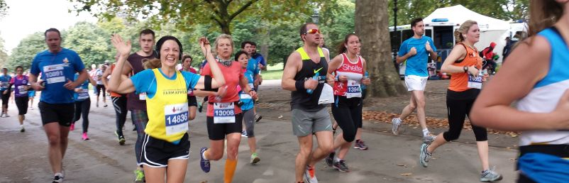 The Royal Parks Half Marathon