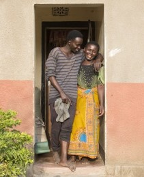 Farm Africa - Female farmer Frida and her son from FoodTrade