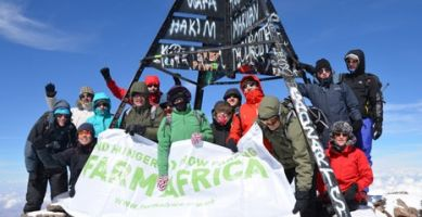 Industry leaders' Mount Toubkal climb raises £25,000