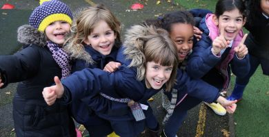 St Jude's pupils pull on their wellies for Farm Africa