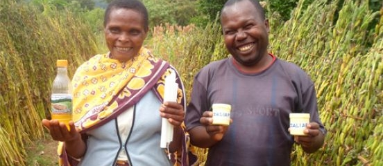 Postcard from Tanzania: sesame oil body gel enriching villagers