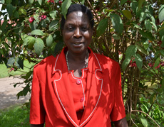 Anostacia is learning how to earn more money by drying and packaging her sugar beans