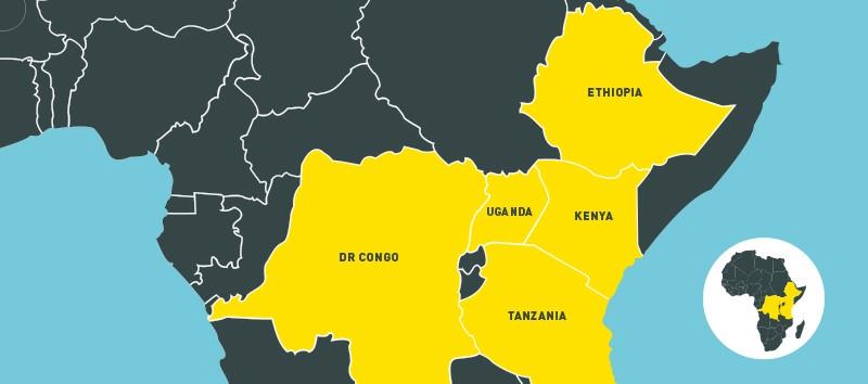 Where Farm Africa works