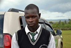 Wanyonyi at his school