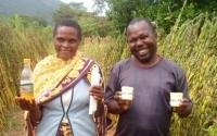 Postcard from Tanzania: sesame oil body gel enriching villagers
